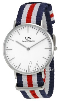 Daniel Wellington Classic Canterbury Antikhvid/Tekstil Ø36 mm