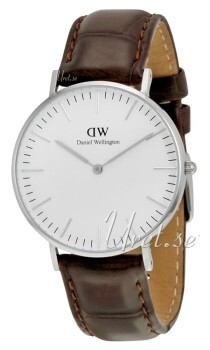 Daniel Wellington Classic York Antikhvid/Læder Ø36 mm