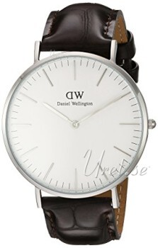 Daniel Wellington Classic York Antikhvid/Læder Ø40 mm