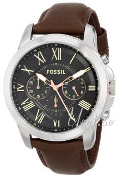 Fossil Sort/Læder
