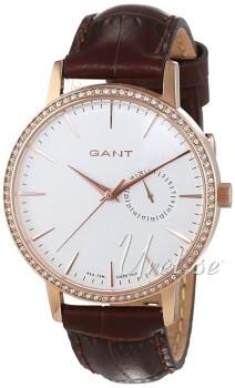 Gant Park Hill II Hvid/Læder