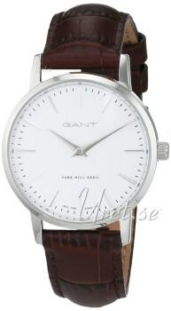 Gant Hvid/Læder