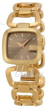 Gucci G Gucci Brun/Gul guldtonet stål