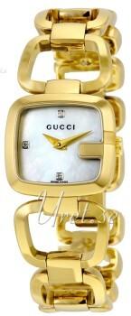Gucci G Gucci Hvid/Gul guldtonet stål