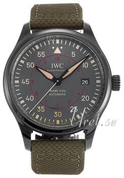 IWC Pilots Classic Grå/Tekstil Ø41 mm