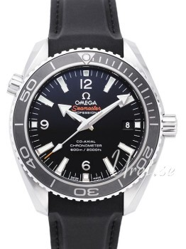 Omega Seamaster Planet Ocean 600m Co-Axial 42mm Sort/Gummi