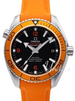 Omega Seamaster Planet Ocean 600m Co-Axial 45.5mm Sort/Gummi