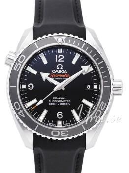 Omega Seamaster Planet Ocean 600m Co-Axial 45.5mm Sort/Gummi