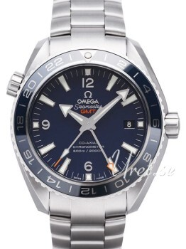 Omega Seamaster Planet Ocean 600m Co-Axial GMT 43.5mm Blå/Titani