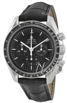 Omega Speedmaster Moonwatch Professional 42mm Sort/Læder Ø42 mm