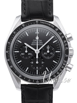 Omega Speedmaster Moonwatch Professional 42mm Sort/Læder
