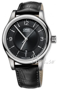 Oris Culture Sort/Læder Ø42 mm