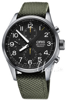 Oris Aviation Sort/Tekstil
