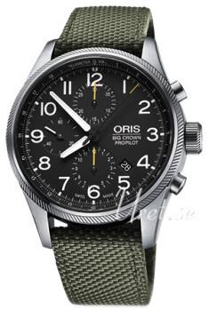 Oris Aviation Sort/Tekstil