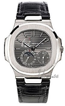 Patek Philippe Nautilus Grey Dial White Gold