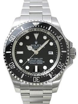 Rolex Deep Sea Sort/Stål Ø44 mm
