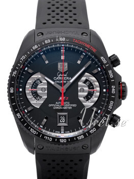 TAG Heuer Grand Carrera Calibre 17 Automatic Chronograph Sort/Gu