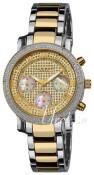 Akribos XXIV Diamond Guldfarvet/Gul guldtonet stål