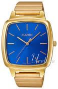 Casio Casio Collection Blå/Gul guldtonet stål