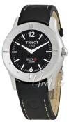 Tissot Touch Collection Sort/Læder