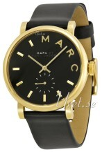 Marc by Marc Jacobs Baker Sort/Læder Ø37 mm