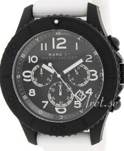 Marc by Marc Jacobs Rock Chrono Sort/Gummi Ø46 mm