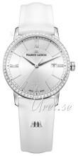 Maurice Lacroix Eliros Date Ladies Sølvfarvet/Læder Ø30 mm