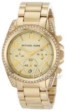 Michael Kors Runway Glitz Guldfarvet/Gul guldtonet stål