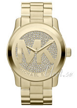 Michael Kors Runway Guldfarvet/Gul guldtonet stål