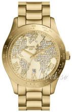 Michael Kors Guldfarvet/Gul guldtonet stål