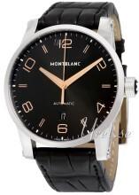 Montblanc Timewalker Sort/Læder Ø42 mm