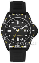 Nautica NSR Sort/Gummi Ø43.8 mm