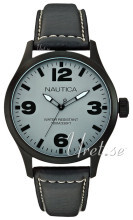 Nautica Dress Grå/Læder Ø44 mm