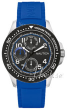 Nautica Multifunction Sort/Gummi Ø44 mm