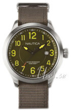 Nautica Dress Grøn/Stål Ø46 mm