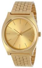 Nixon The Time Teller Guldfarvet/Gul guldtonet stål Ø37 mm