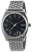 Nixon The Time Teller Sort/Stål