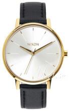 Nixon The Kensington Hvid/Læder