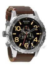 Nixon The 51-30 Leather Sort/Læder