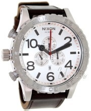 Nixon The 51-30 Leather Hvid/Læder