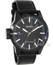 Nixon The Chronicle Sort/Læder