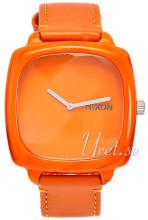Nixon Orange/Læder Ø42.5 mm