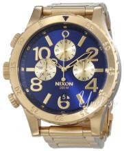 Nixon The 48-20 Blå/Gul guldtonet stål