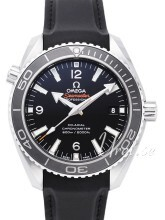 Omega Seamaster Planet Ocean 600m Co-Axial 45.5mm Sort/Gummi Ø45