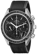 Omega Speedmaster Racing Co-Axial Chronograph 40mm Sort/Gummi Ø4