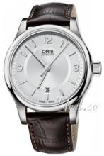 Oris Culture Sølvfarvet/Læder