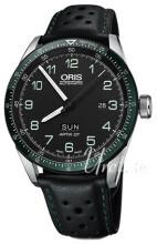 Oris Motor Sport Sort/Læder