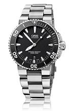 Oris Divers Aquis Date Sort/Stål