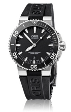 Oris Divers Aquis Date Sort/Gummi Ø43 mm