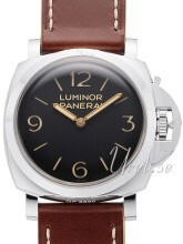 Panerai Historic Luminor 1950 3 Days Sort/Læder Ø47 mm